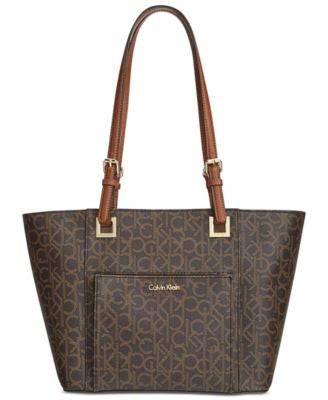 Calvin Klein Monogram East West Tote