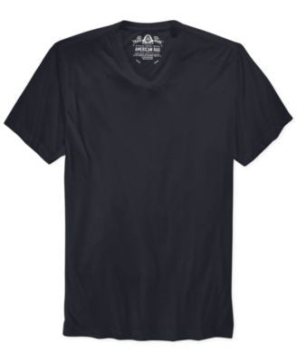 American Rag Men's T Shirt, Basic Slub V Neck