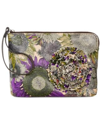 Patricia Nash Cassini Wristlet with Decal