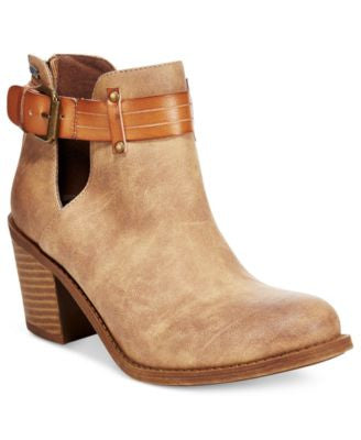 Roxy Laurel Cutout Ankle Booties