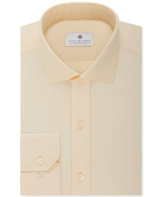Ryan Seacrest Distinction Slim-Fit Non-Iron Solid Dress Shirt