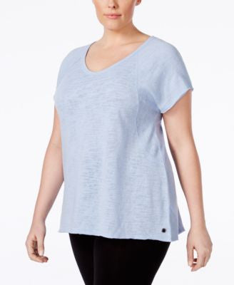 Calvin Klein Performance Plus Size V-Neck T-Shirt