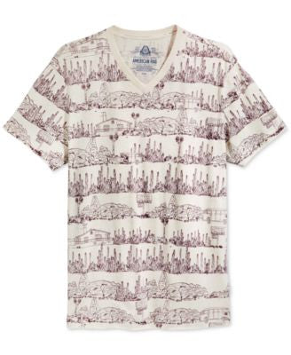 American Rag Men's Landscape T-Shirt, Only at Vogily
