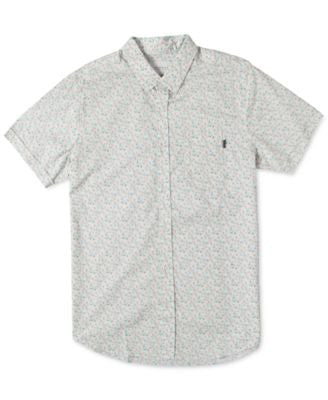 Rip Curl Men's Flower Fun Short Sleeve Shirt