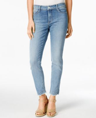 NYDJ Clarissa Embroidered Parker Wash Jeans