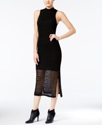 Bar III Crochet Midi Dress, Only at Vogily