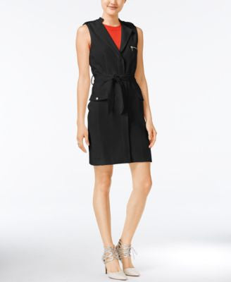 Bar III Belted Utility Dress, Only at Vogily