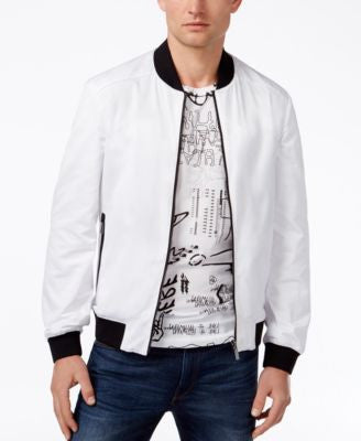 Hugo Boss Red Men's Reversible Baxtent Bomber Jacket