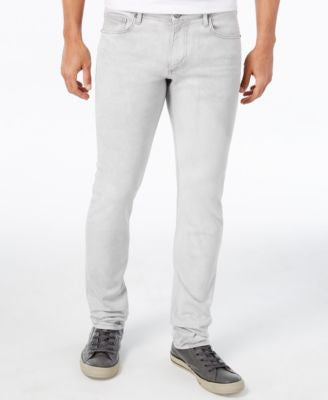 Versace Men's Classic-Fit Gray Jeans