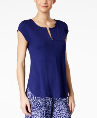 Alfani Cap-Sleeve Pajama Top, Only at Vogily