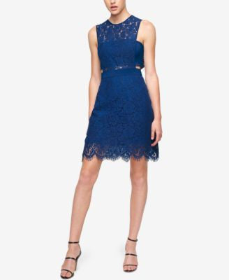 Fame and Partners Mini Lace Two Piece Dress
