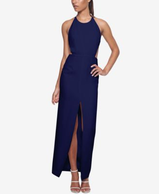 Fame and Partners Cutout Cross-Back Dress