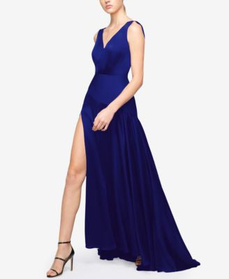 Fame and Partners Draped Maxi Dress