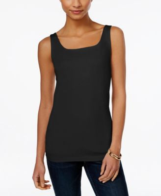 Style & Co. Shelf-Bra Tank Top, Only at Vogily