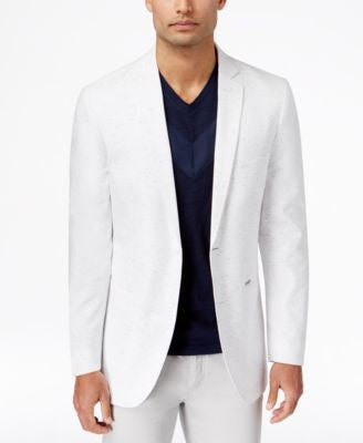 INC International Concepts Men's Carter Classic-Fit Nep Two-Button Blazer, Only at Vogily