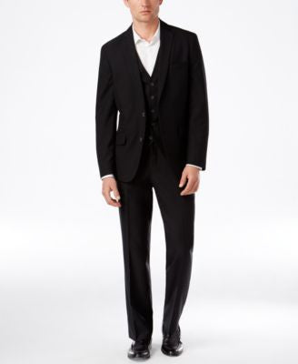 INC International Concepts Men's, EDV Textured Clark Suit Separates