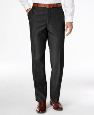 INC International Concepts Men's Traveler Nanotex Flat-Front Pants, Only at Vogily