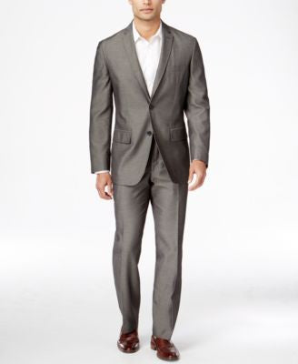 INC International Concepts Men's Classic-Fit Nanotex Traveler Suit, Only at Vogily
