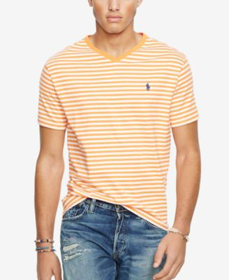 Polo Ralph Lauren Men's Striped Jersey V-Neck