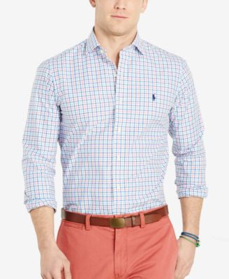 Polo Ralph Lauren Slim-Fit Poplin Shirt