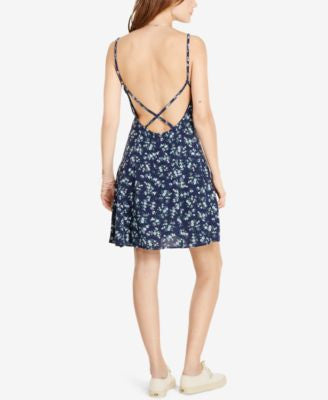 Denim & Supply Ralph Lauren Open Back Slip Dress
