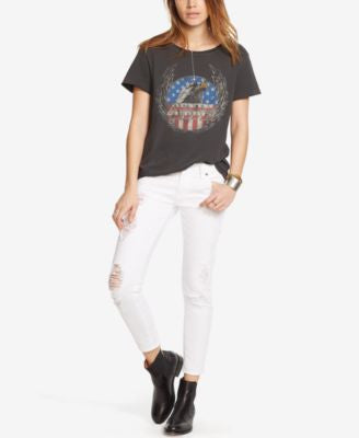 Denim & Supply Ralph Lauren Drapey Graphic T-Shirt