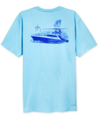 Guy Harvey Men's Money Pit Graphic-Print T-Shirt