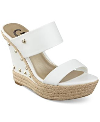 G by GUESS Decaf Espadrille Wedge Sandals