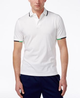 Tommy Hilfiger Men's Custom Fit Graham Tipped Jersey Polo