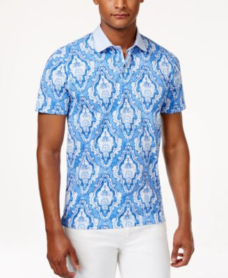 Tommy Hilfiger Men's Winston Paisley-Print Polo