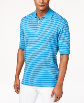 Tommy Bahama Big & Tall Men's Fairway Striped Polo
