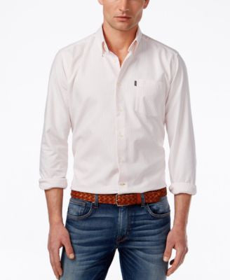 Barbour Men's Ernest Stripe Oxford Long-Sleeve Shirt