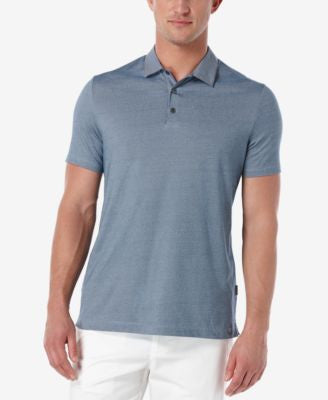 Perry Ellis Men's Fine-Stripe Performance Polo