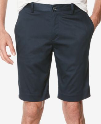 Perry Ellis Men's Flat-Front Stretch Performance Shorts