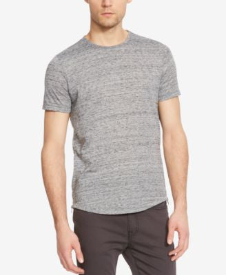 Kenneth Cole New York Men's Jaspe Slub Side-Zip T-Shirt