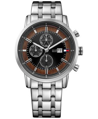 Tommy Hilfiger Men's Cool Sport Stainless Steel Bracelet Watch 44mm 1791248
