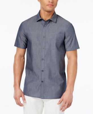 Vince Camuto Men's Colorblocked Short-Sleeve Shirt