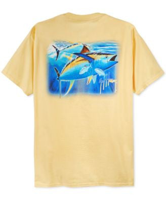 Guy Harvey Men's Graphic-Print T-Shirt