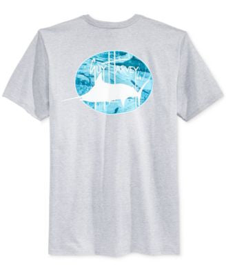Guy Harvey Men's The Deep Graphic-Print T-Shirt
