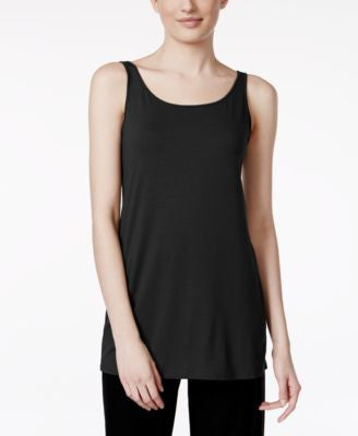 Eileen Fisher Sleeveless Scoop-Neck Shell
