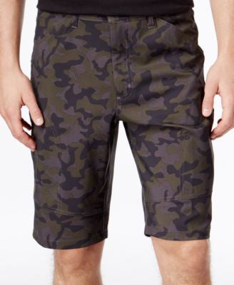 Hawke & Co. Outfitter Men's Nylon Flat-Front Active Shorts