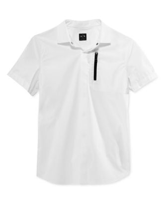 Armani Exchange Men's Paper Touch Shirt
