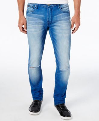 GUESS Men's City Life Wash Skinny Fit Jeans