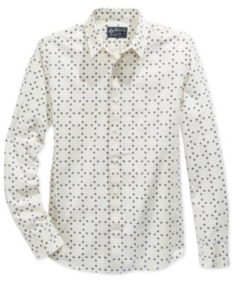 American Rag Men's Dot Shirt, Only at Vogily