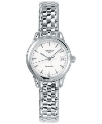 Longines Watch, Women's Swiss Automatic Flagship Stainless Steel Bracelet 26mm L42744126