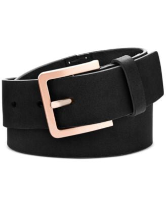 Calvin Klein Hand-Stitch Lace-Up Leather Belt