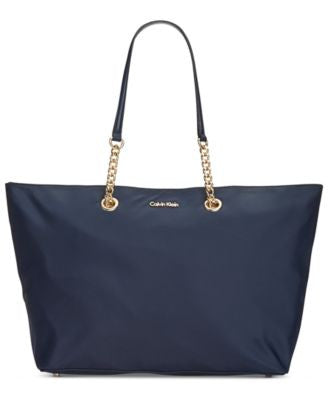 Calvin Klein Large Nylon East West Tote