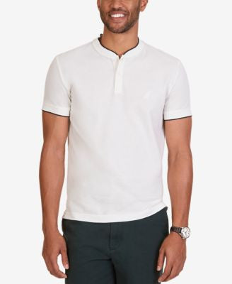Nautica Men's Knit Slim-Fit Short-Sleeve Henley