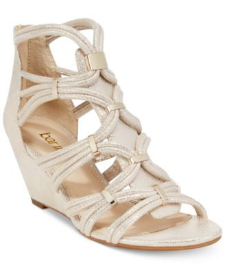 Bar III Kaylan Wedge Dress Sandals, Only at Vogily