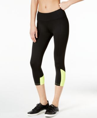 Calvin Klein Performance Colorblocked Capri Leggings